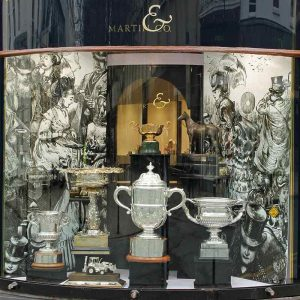 Martin & Co Gold Cup window graphics 2016